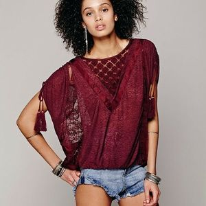 Free People South Of The Equator Top S